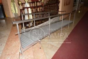 Rulo Rampa Otel İçin Engelli Rampasi