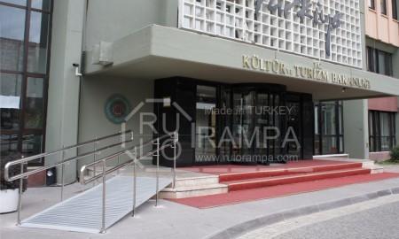Rulo Rampa Engelli Rampası Kültür ve Turizm Bakanlığı