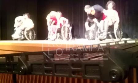 Rulo Rampa Engelli Rampası Sahne Çıkışı