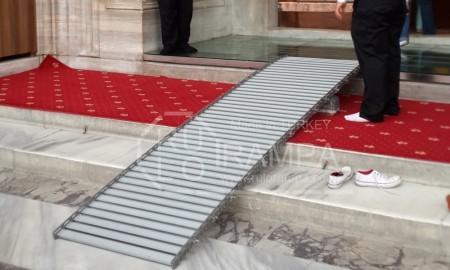 Rulo Rampa Engelli Rampası Süleymaniye Camii