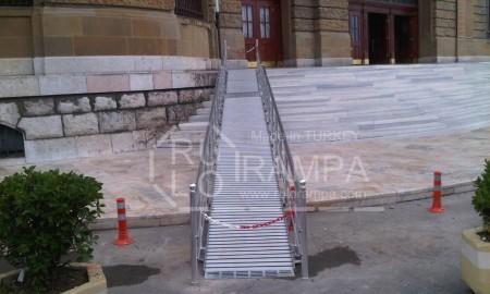 Rulo Rampa Engelli Rampası Haydarpaşa Tren İstasyonu